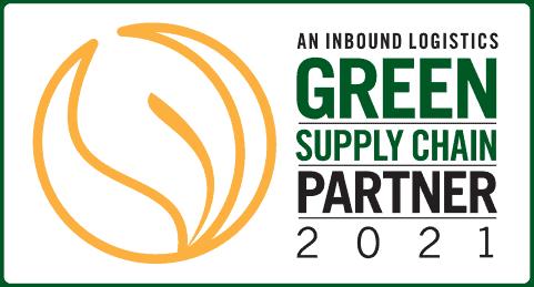 cj logistics america, inbound logistics, green supply chain partner