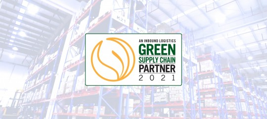 cj logistics america, green supply chain partner, inbound logistics