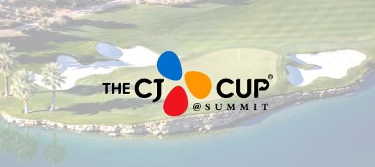 cj logistics america, cj cup, pga tour, summit, las vegas